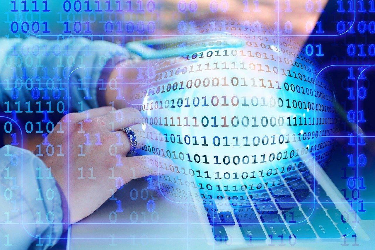 binary, hands, keyboard