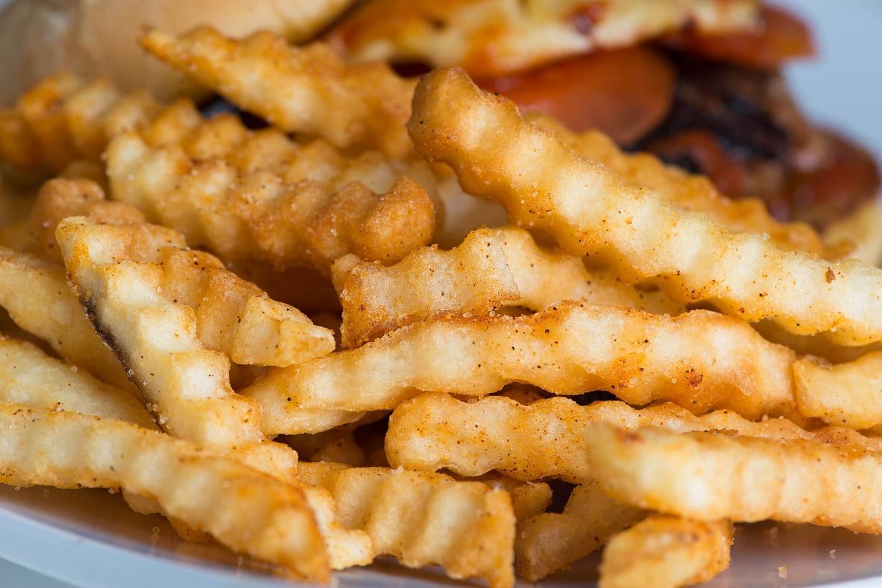 macro, fries, french